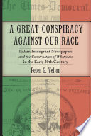 A Great Conspiracy Against Our Race [Pdf/ePub] eBook