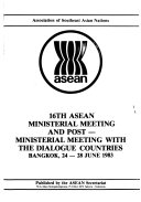 ASEAN Ministerial Meeting and Post ministerial Meeting with the Dialogue Countries