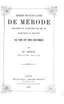Frédéric-François-Xavier de Mérode