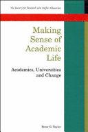 Making Sense of Academic Life