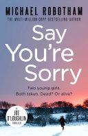 Say You're Sorry Pdf/ePub eBook