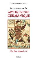 Dictionnaire de mythologie germanique [Pdf/ePub] eBook
