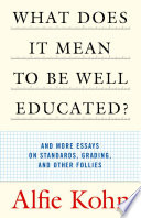 What Does It Mean to Be Well Educated