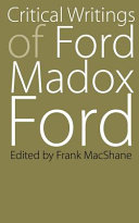Critical Writings of Ford Madox Ford