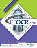 Mastering Mathematics for OCR GCSE