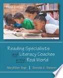 Reading Specialists And Literacy Coaches In The Real World Book