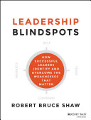 Pdf Leadership Blindspots