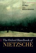 Pdf The Oxford Handbook of Nietzsche Telecharger