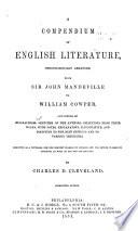 Compendium of English Literature