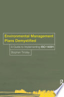 Environmental Management Plans Demystified
