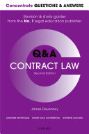 Concentrate Questions and Answers Contract Law Book