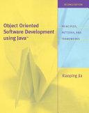 Object oriented Software Development Using Java