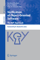 Verification of Object Oriented Software  The KeY Approach