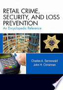 Retail Crime  Security  and Loss Prevention Book