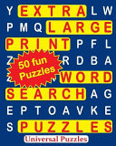 Extra Large Print Word Search Puzzles