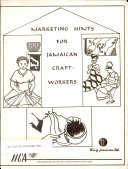 Marketing Hints for Jamaican Craft-Workers