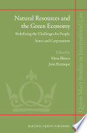 Natural Resources And The Green Economy