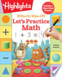 Write On Wipe off Let s Practice Math