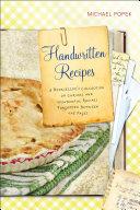 Handwritten Recipes Pdf/ePub eBook