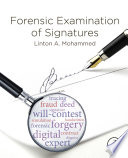 Forensic Examination of Signatures Book