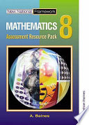 New national framework mathematics