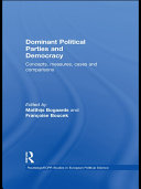 Dominant Political Parties and Democracy: Concepts, Measures, Cases ...