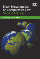 Elgar Encyclopedia of Comparative Law, Second Edition