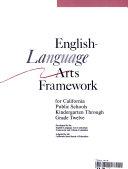 English language Arts Framework for California Public Schools