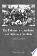 The Thirteenth Amendment And American Freedom PDF