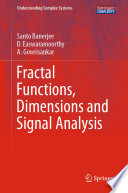 Fractal Functions  Dimensions and Signal Analysis
