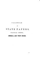 Calendar of State Papers, Colonial Series: America & West Indies 1669-1674