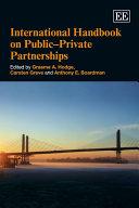 International Handbook on Public Private Partnership
