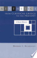 Aesthetics from Classical Greece to the Present