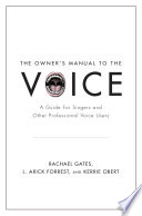 The Owner s Manual to the Voice Book PDF