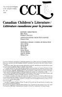 Canadian Children's Literature