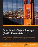 OpenStack Object Storage  Swift  Essentials
