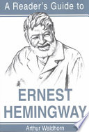 A Reader S Guide To Ernest Hemingway