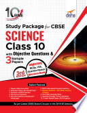 """10 in One Study Package for CBSE Science Class 10 with Objective Questions & 3 Sample Papers 3rd Edition"" by Disha Experts"