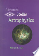 Advanced Stellar Astrophysics Book PDF