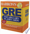 Barron's GRE Vocabulary Flash Cards
