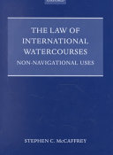 The Law of International Watercourses