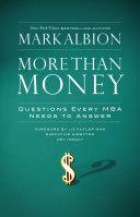 More Than Money Pdf/ePub eBook