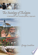 The Sociology Of Religion Book PDF