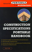 Construction Specifications Portable Handbook