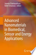 Advanced Nanomaterials in Biomedical  Sensor and Energy Applications Book