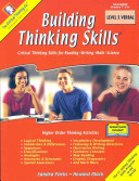 Building Thinking Skills, Level 3 Verbal