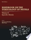 Handbook on the Toxicology of Metals  Volume II