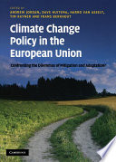 Climate Change Policy in the European Union Book