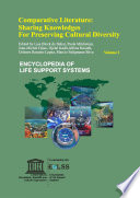 Comparative Literature  Sharing Knowledges for Preserving Cultural Diversity   Volume I