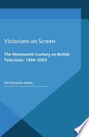 Victorians On Screen Book PDF